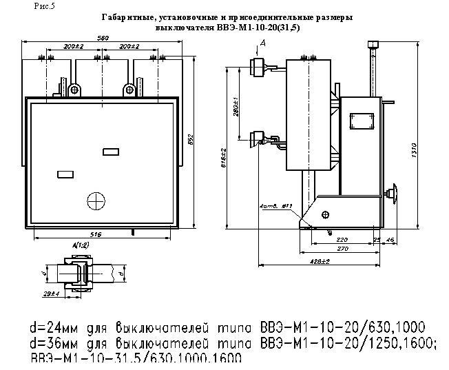ВВЭ-М(М1)-10-20/1000 У3,